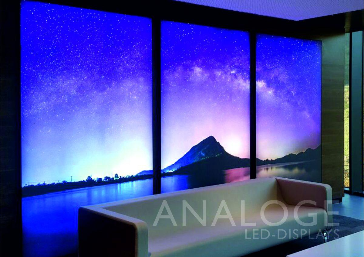 Analoge LED-Displays