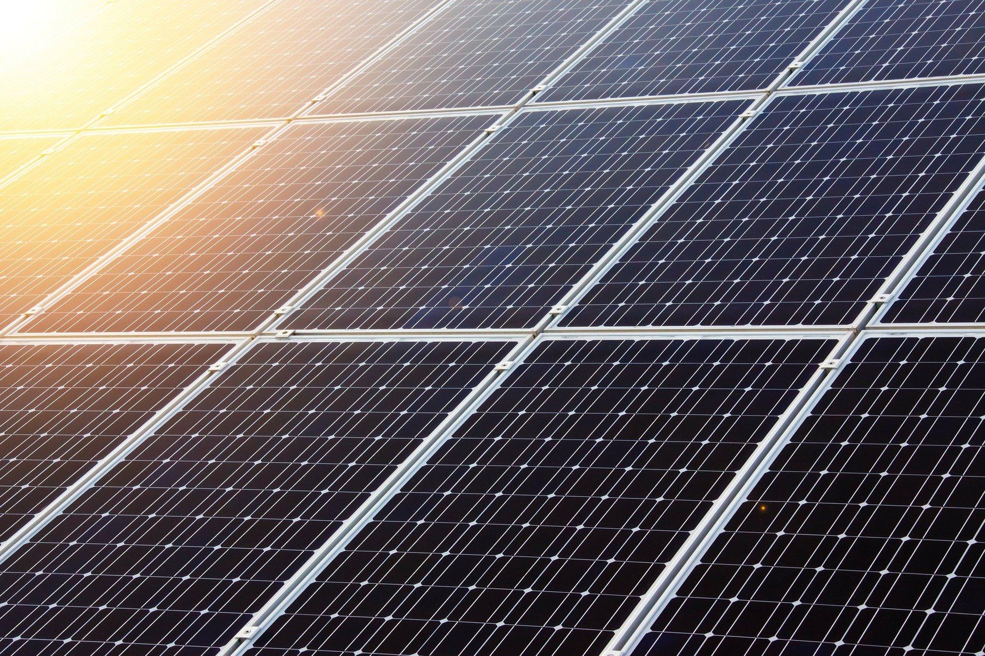 Solarstrom LED-Display
